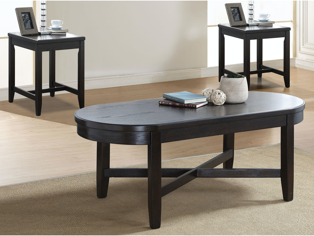 Acme furniture living room dimitri 3 piece coffee and end table set 82755 simply discount for Cheap end tables for living room