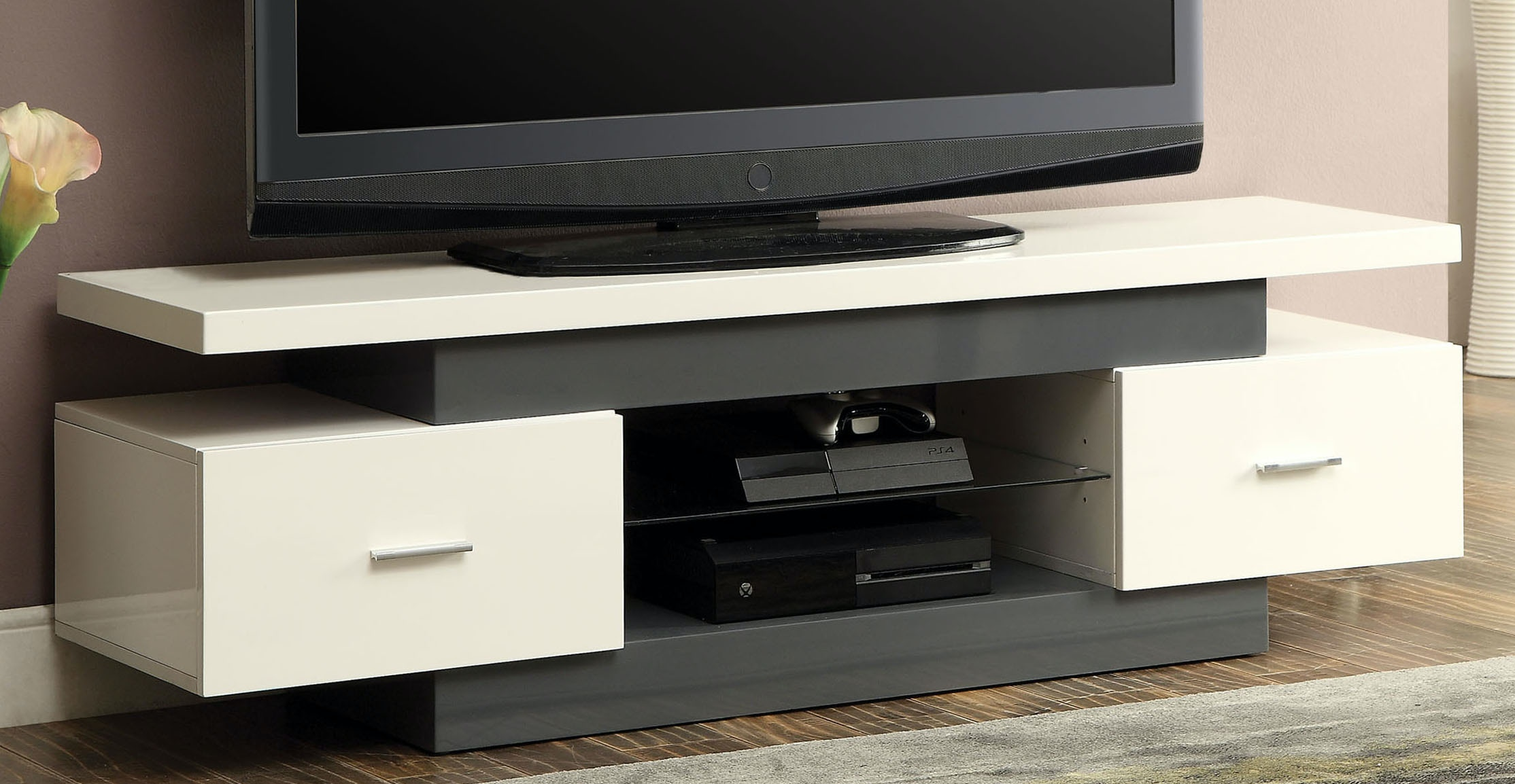 Acme Furniture Home Entertainment Tv Stand 91302 The Furniture