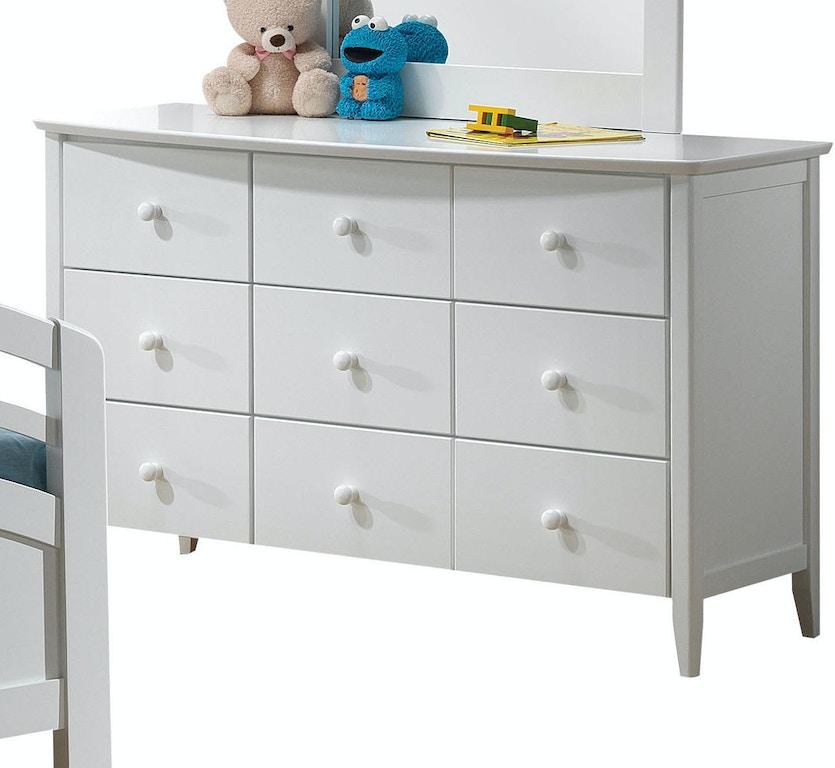 Acme Furniture Youth San Marino Dresser 09159 Barron S