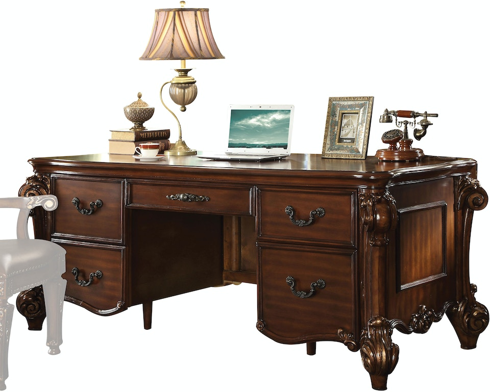Acme Furniture Home Office Executive Desk 92125 Noble Furniture