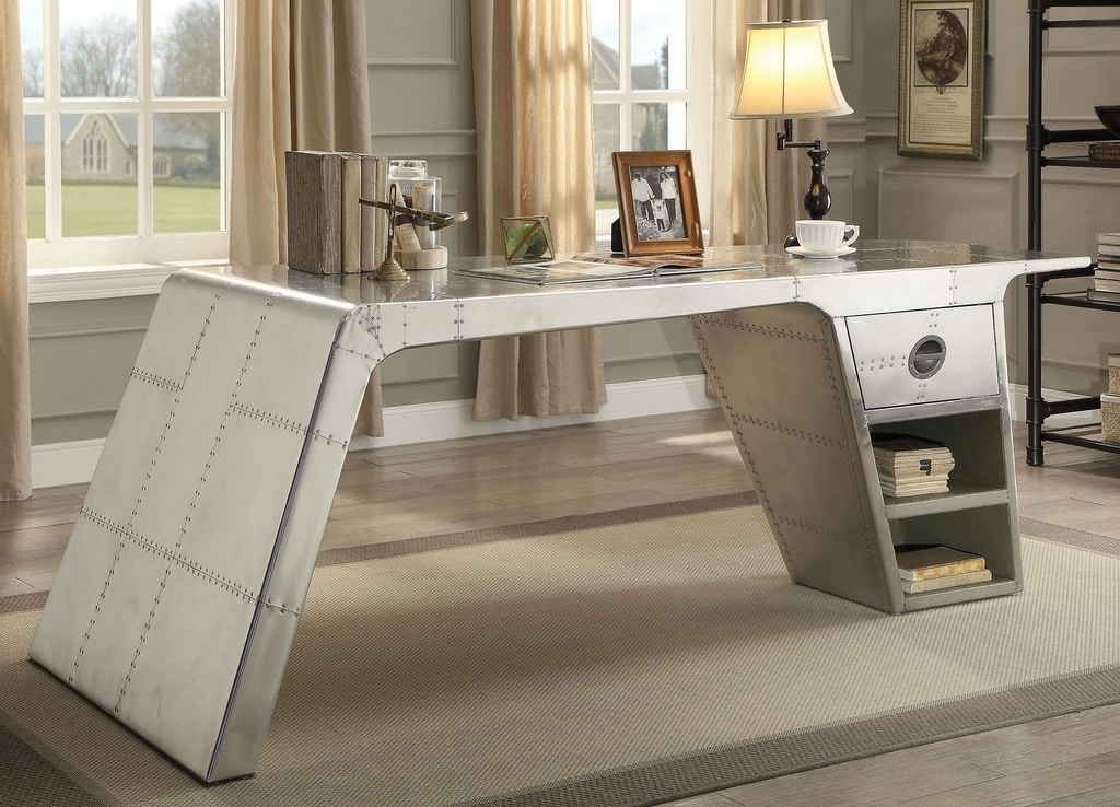Stupendous Acme Furniture Home Office Desk 92190 Aarons Fine Home Interior And Landscaping Ologienasavecom