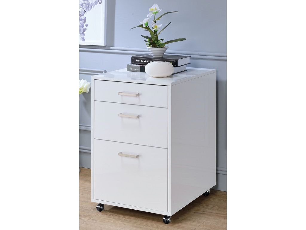 Acme furniture home office coleen file cabinet 92454 for Acme kitchen cabinets