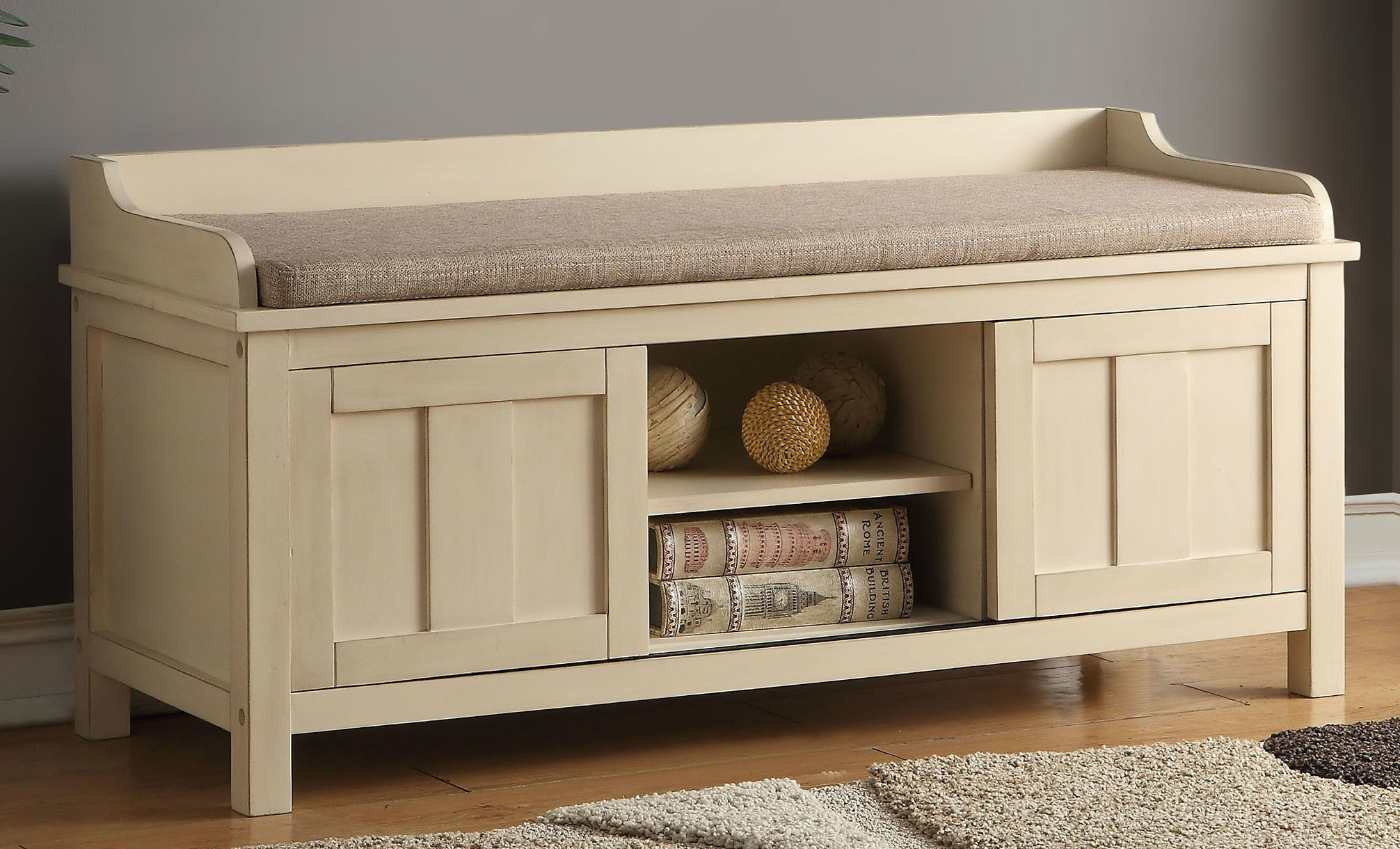 Acme Furniture Bench With Storage 96620