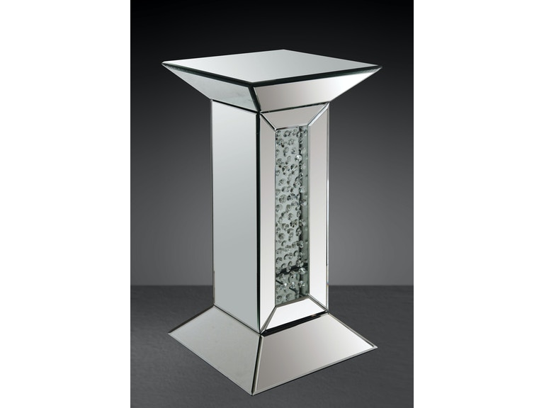 Acme Furniture Accessories Mirror Pedestal Stand 97306 At Gallery