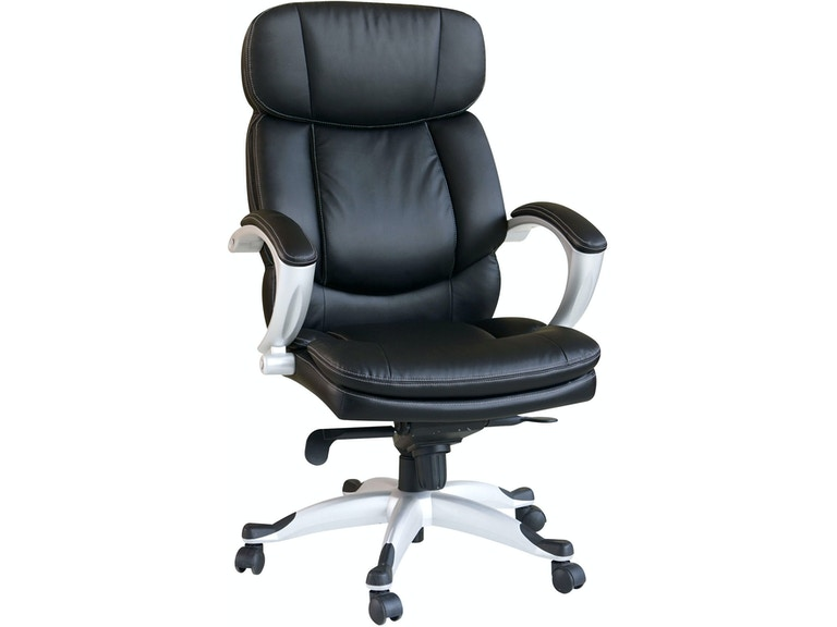 Wondrous Acme Furniture Home Office Black Pu Office Chair 09768 Home Interior And Landscaping Ologienasavecom
