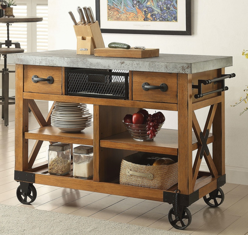 Acme Furniture Kitchen Cart 98182 Barron S Home