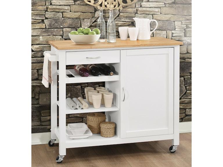 Acme Furniture Ottawa Kitchen Cart 98315 - Furniture Plus Inc ...