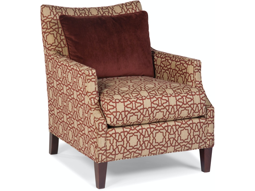 Fairfield chair company living room hollis lounge chair for Furniture 4 less decatur al