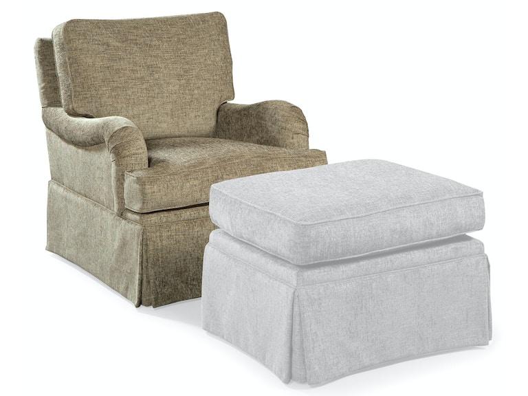 fairfield chair company living room swivel glider 1443 32
