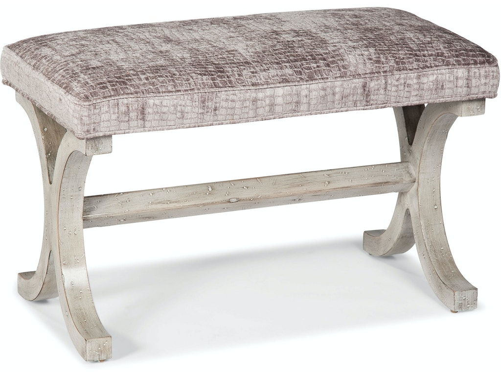 Fairfield Chair Company Living Room Bench 1612 10 Hickory Furniture Mart Hickory Nc