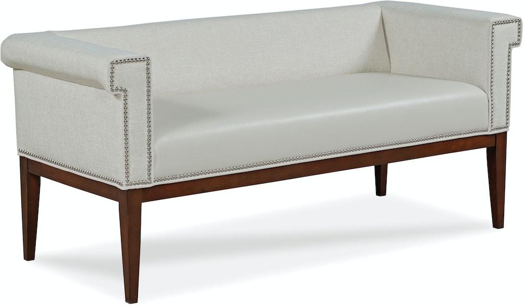 Fairfield Chair Company Living Room Evie Bench 1742 10 Greenbaum Home Furnishings Bellevue Wa
