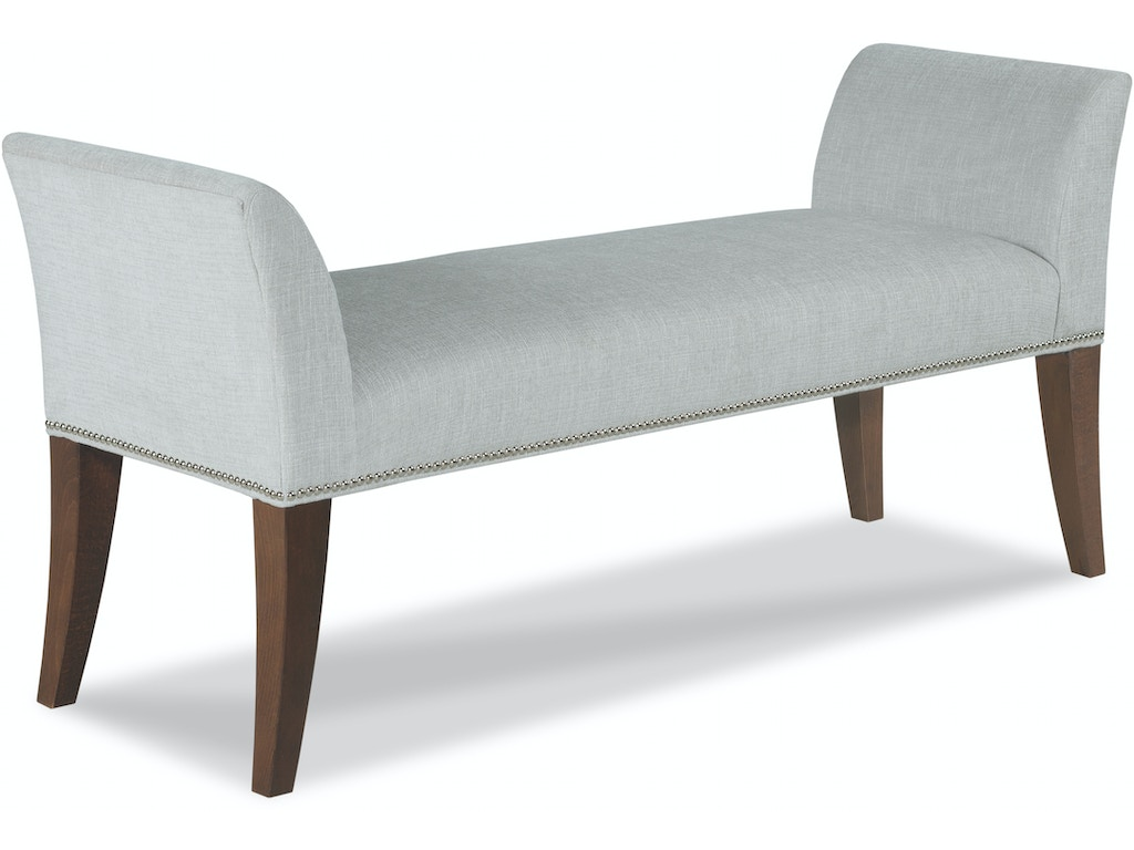 Fairfield Chair Company Living Room Kenner Bench 1765 10 Hickory Furniture Mart Hickory Nc