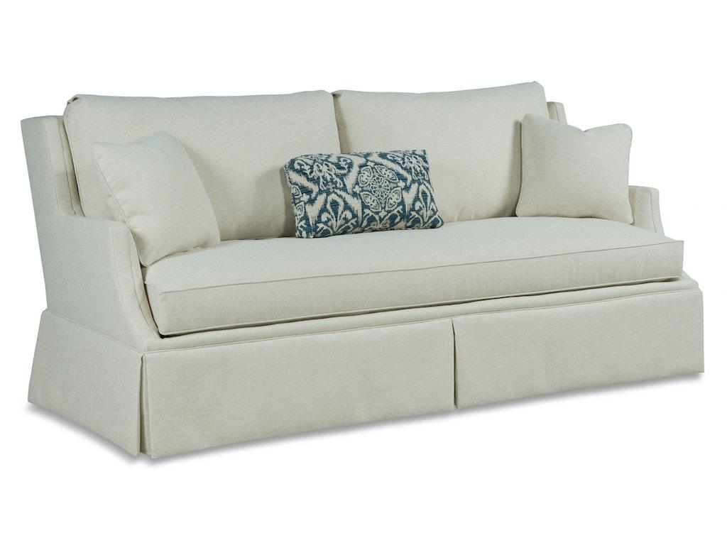 Fairfield chair company living room sofa 2728 50 gorman for Detroit sofa company