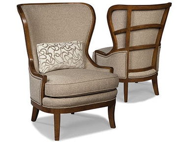 Fairfield Chair Company Living Room Downey Wing Chair 5158
