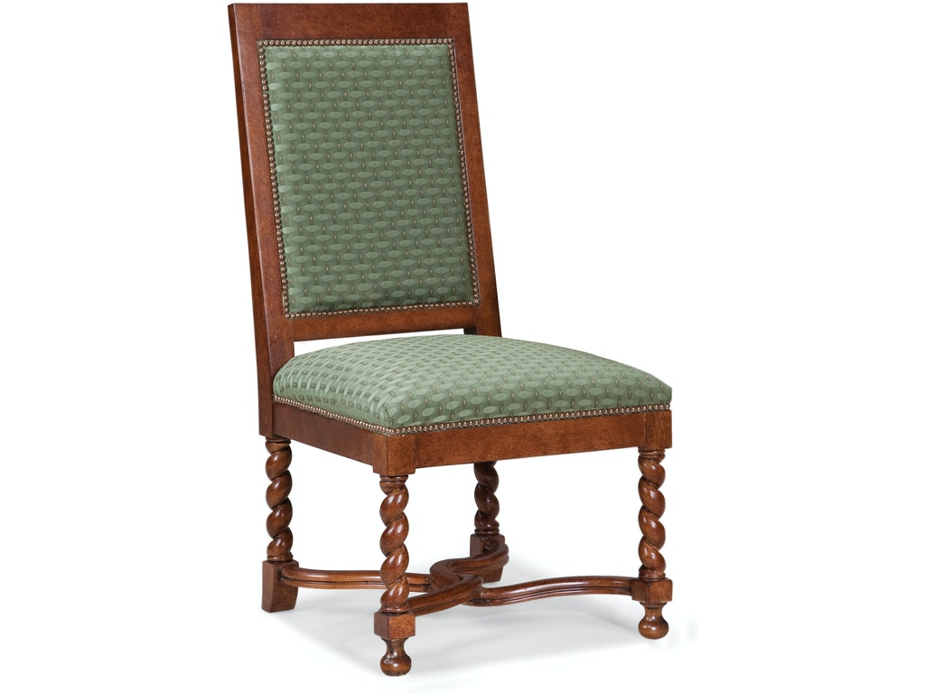 Fairfield Chair Company Dining Room Norman Side Chair 5428 05 Charter Furniture Dallas Fort