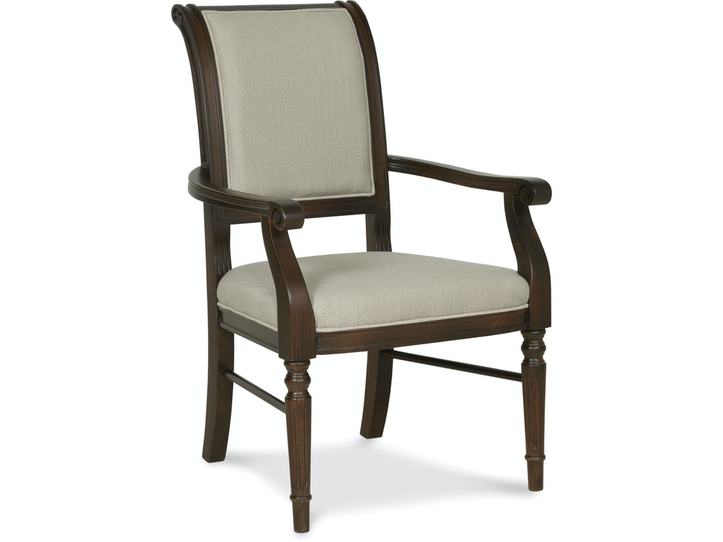 Fairfield chair company dining room delano arm chair 5434 for Q furniture west kirby