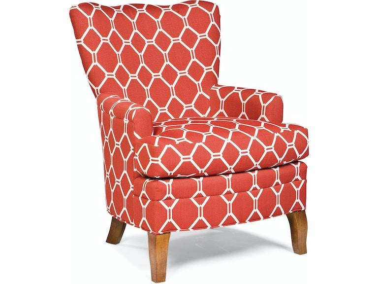Fairfield Chair Company Living Room Hines Lounge Chair 6036 01
