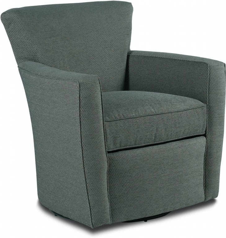 Fairfield Chair Company Living Room Paterson Swivel Chair ...