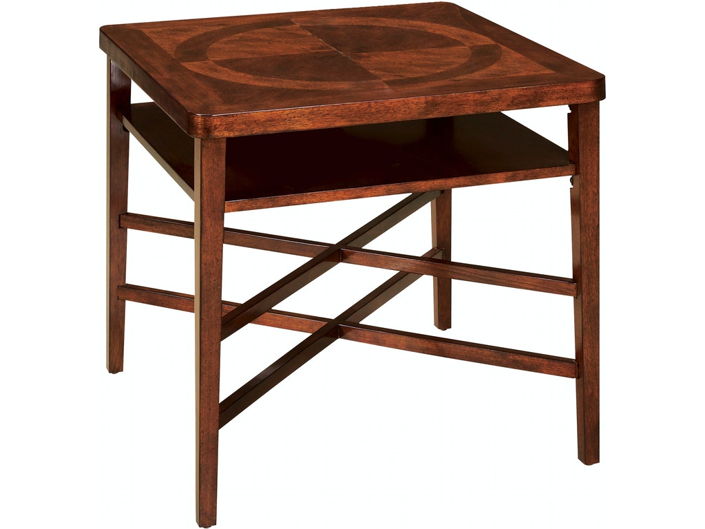 Fairfield Chair Company Living Room Regency Square End Table 8010 94 Cherry House Furniture