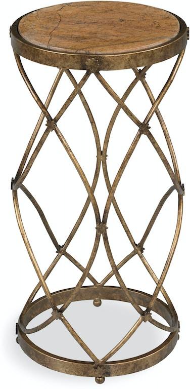 Fairfield Chair Company Living Room BELFORT MARBLE TOP DRINK