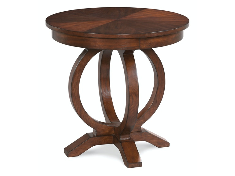 Fairfield Chair Company Living Room Square End Table 8105