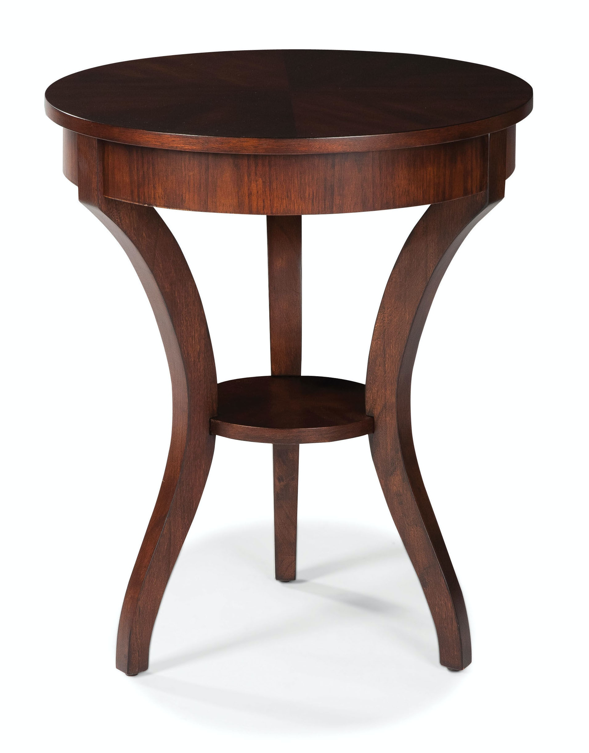 Fairfield chair company living room round end table 8105 Living room furniture raleigh nc