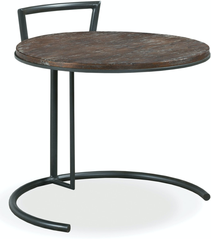 Fairfield Chair Company Living Room Rustique Round End Table
