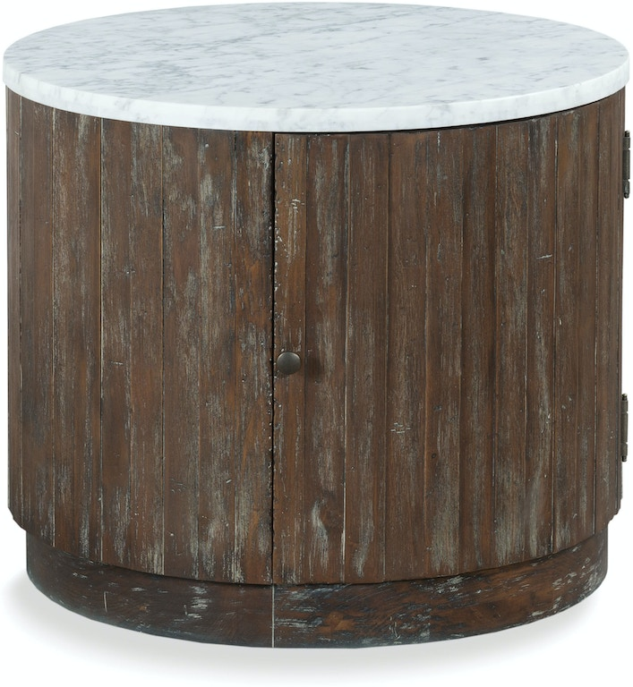 Fairfield Chair Company Living Room Rustique Drum Table 8113 ...