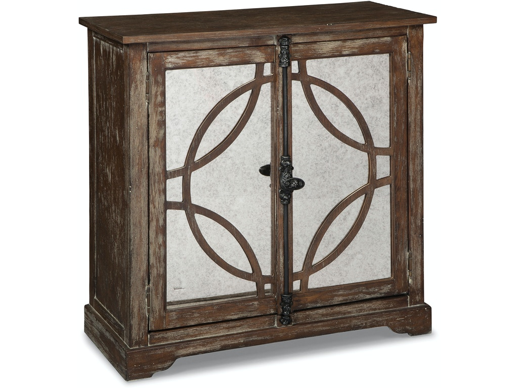 Hooker furniture living room one door accent chest 500 50 for Furniture 500 companies