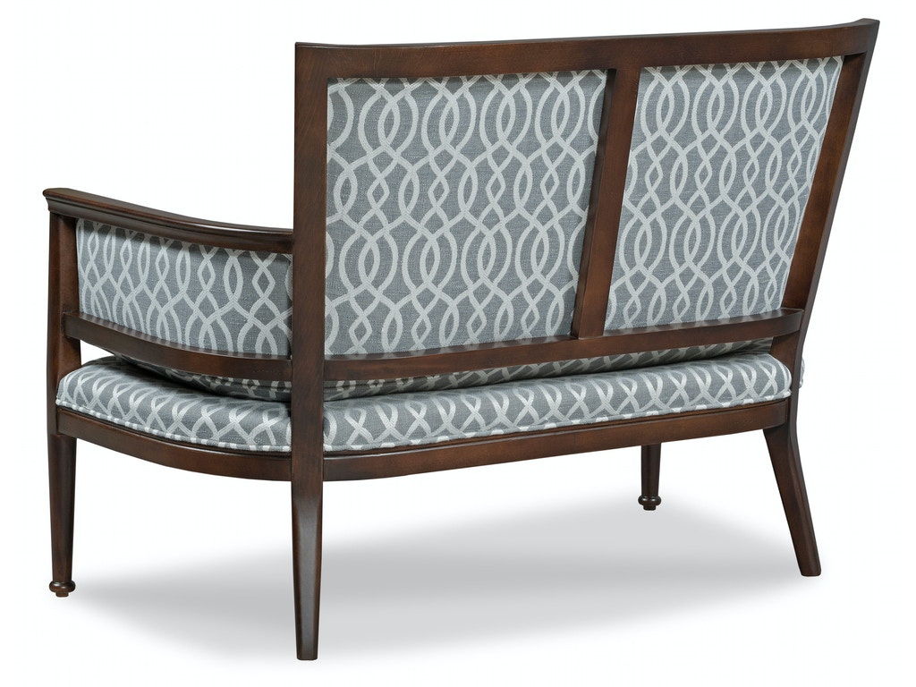 Fairfield Chair Company Living Room Settee 8337 40 Charter Furniture Dallas Fort Worth Tx