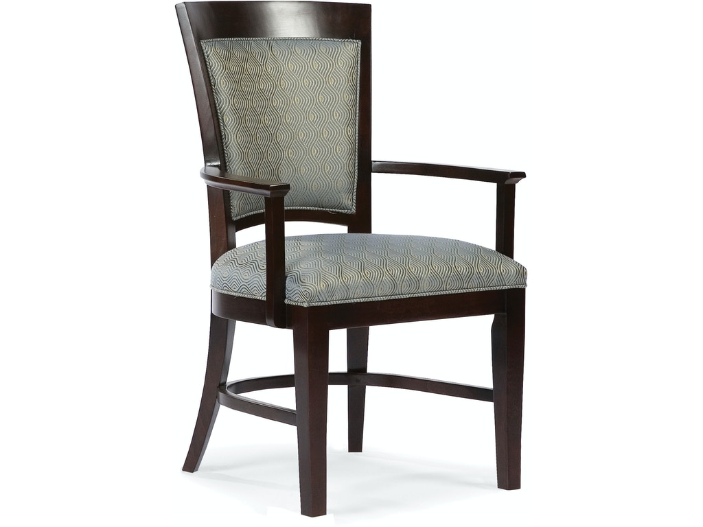 Fairfield Chair Company Dining Room Jefferson Arm Chair 8365 04 Bostic Sugg Furniture