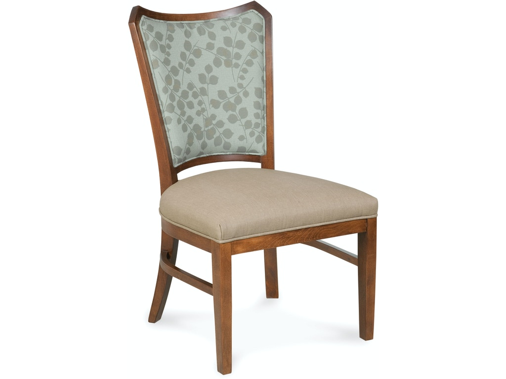 Fairfield Chair Company Dining Room Wallace Side Chair 8718 05 Hickory Furniture Mart