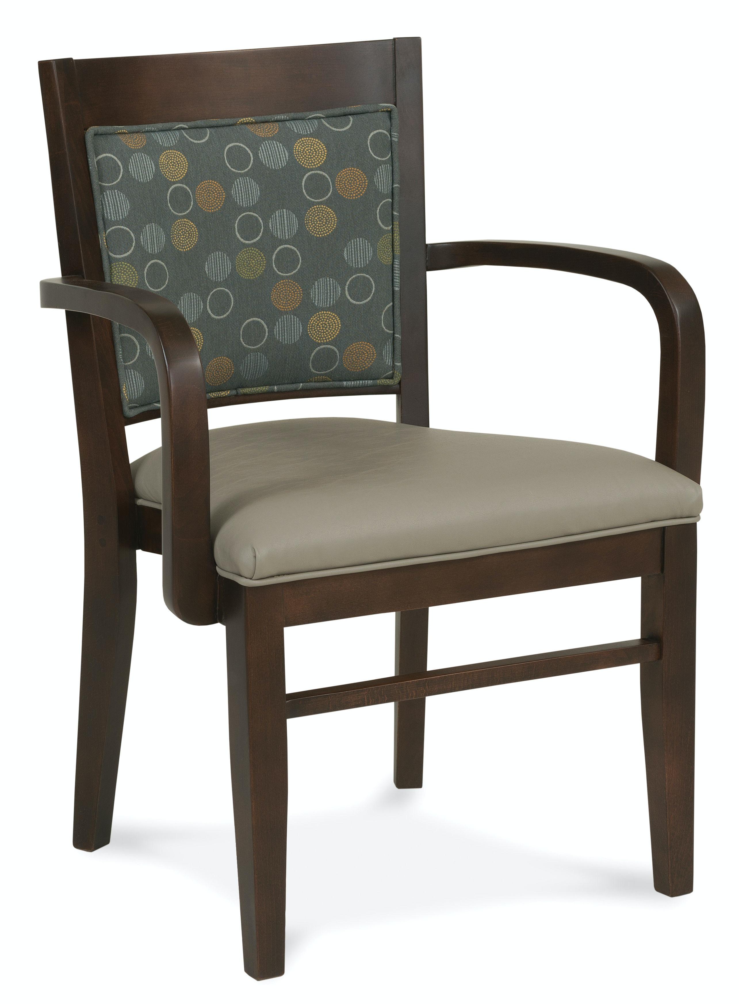 Fairfield Chair Company Arm Stack Chair 8746 11