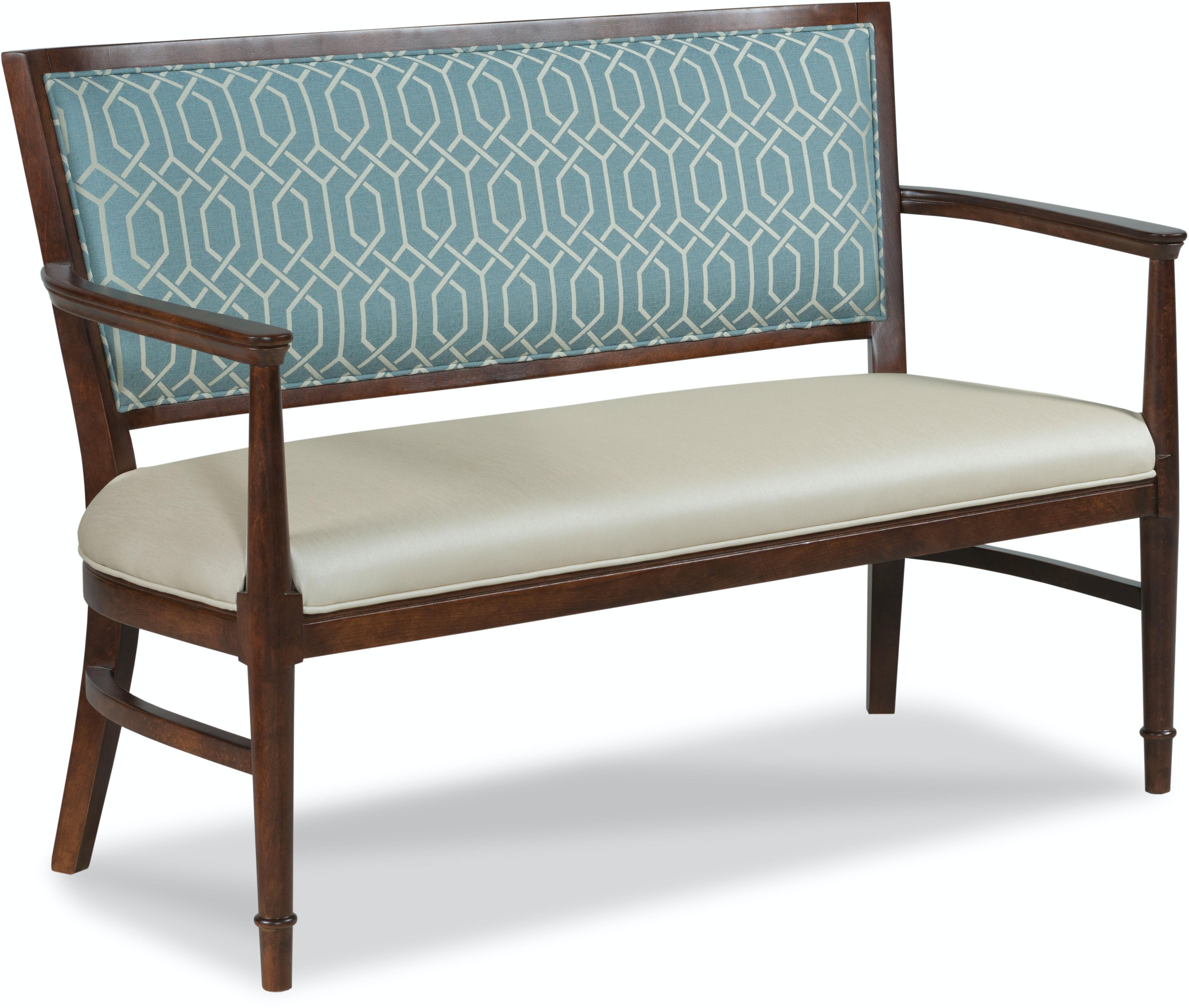 Fairfield Chair Company Living Room Garland Settee 8747 40