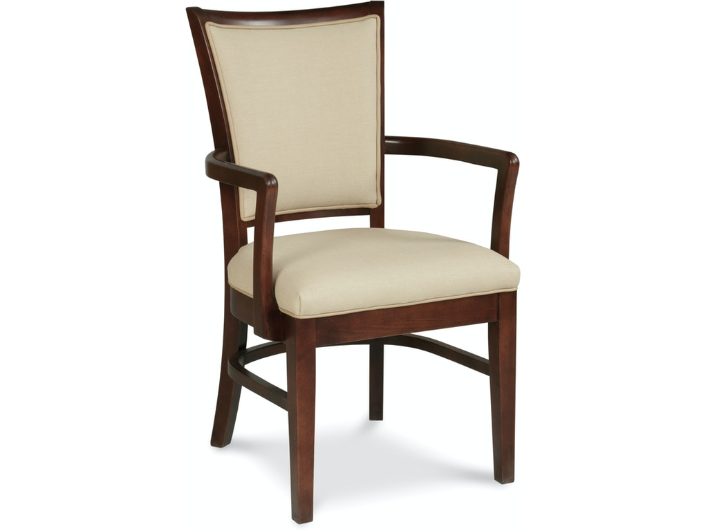 Fairfield chair company dining room laughlin arm chair for Q furniture beaumont texas