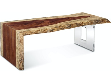 d3d9f521fe351 Fairfield Chair Company Live Edge Waterfall Cocktail Table LE54-WC