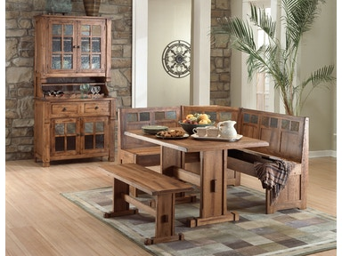 0219RO Sedona Breakfast Nook Set