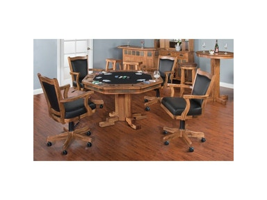 Sunny Designs Sedona Game And Dining Table 1004RO