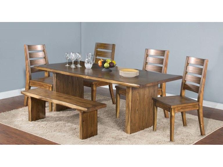 Sunny Designs Carey Live Edge Table 1046NW