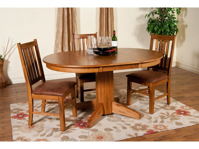 Sunny Designs Dining Room Slatback Chair With Cushion 1404ro Ct Simply Discount Furniture