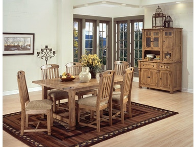 Sunny Designs Sedona Extension Table 1116RO
