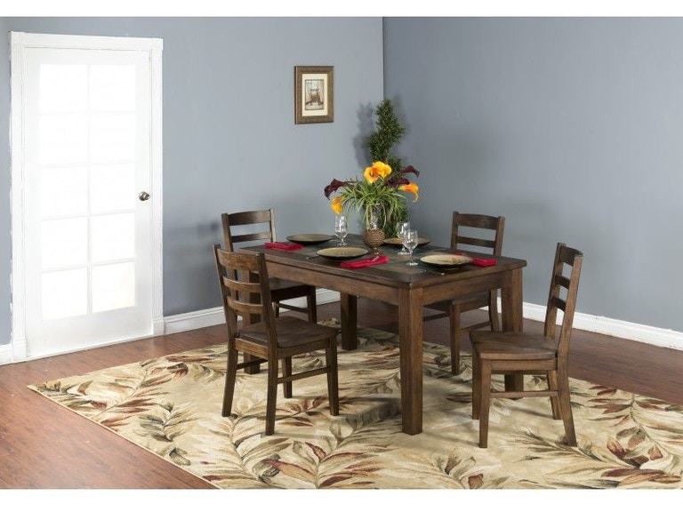 Sunny Designs Dining Room Savannah Table 1170AC - Seaside ...