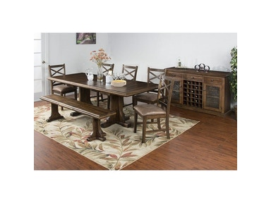 Sunny Designs Savannah Ext. Dining Table 1199AC