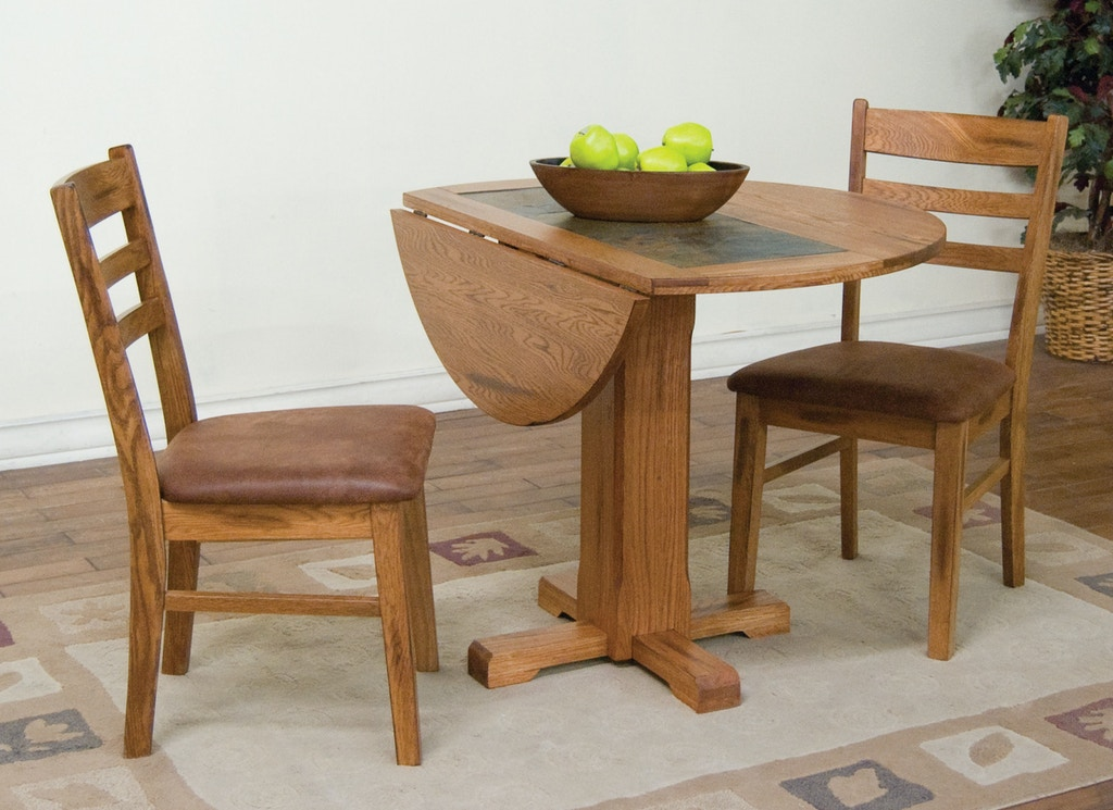 Sedona Drop Leaf Table With Slate