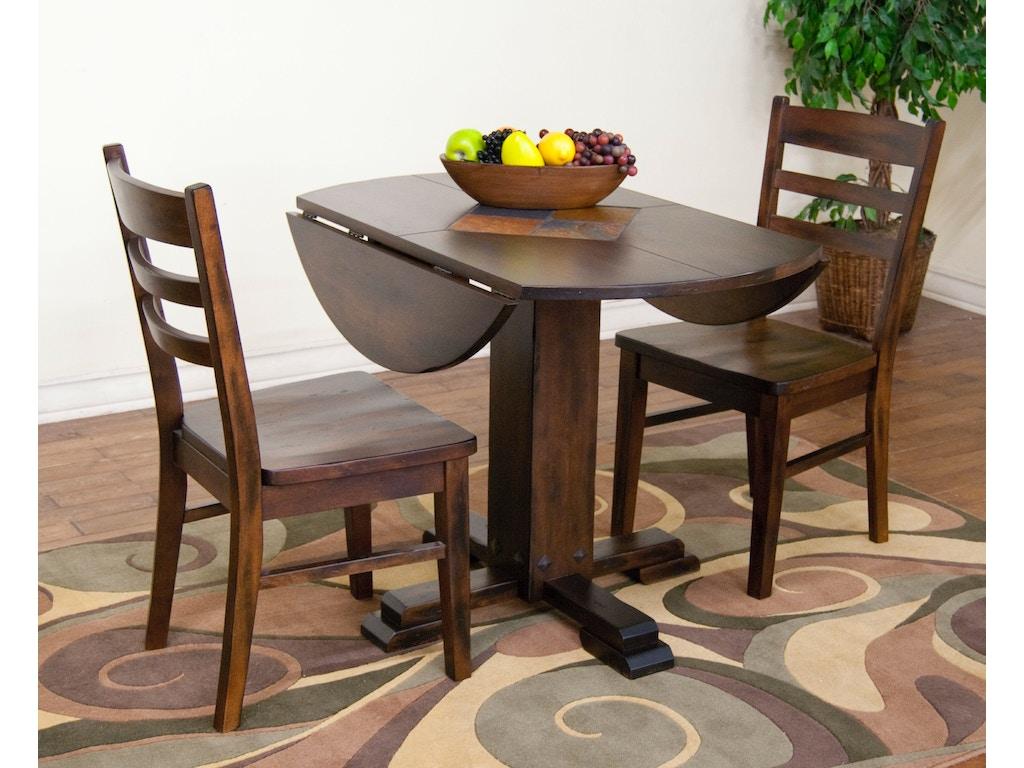 Sunny Designs Dining Room Santa Fe Drop Leaf Table 1233dc Bennington Furniture Bennington Vt