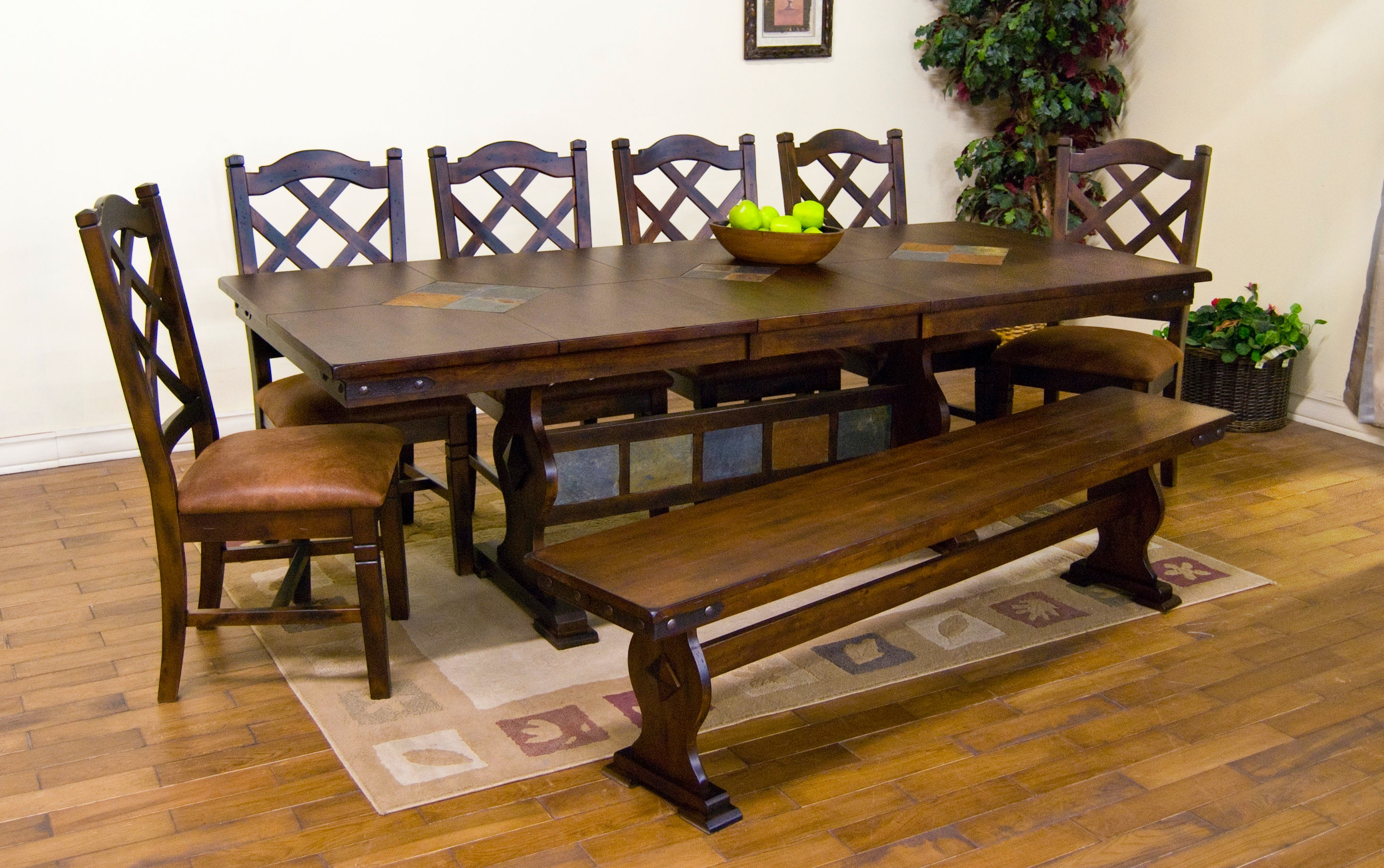 ... Blackledge Furniture Corvallis Or By Sunny Designs Dining Room Santa Fe  Trestle Table With ...