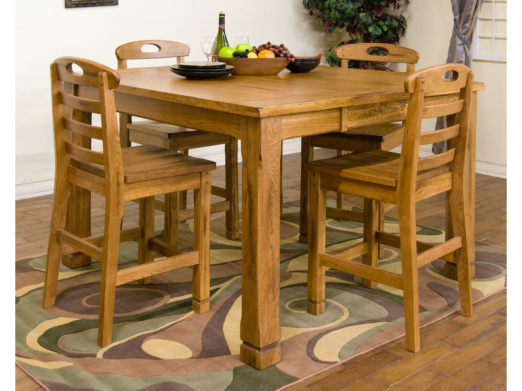 Sunny Designs Dining Room Sedona Family Butterfly Table 1245ro Seaside Furniture Toms River