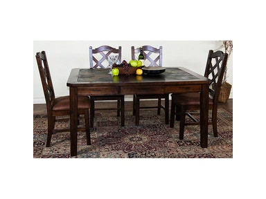 Sunny Designs Santa Fe Extension Table With Slate 1273DC