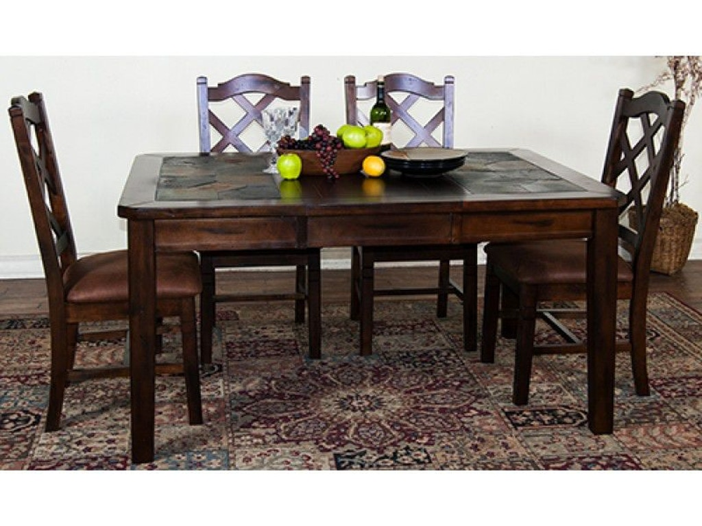 Sunny Designs Dining Room Santa Fe Extension Table With ...