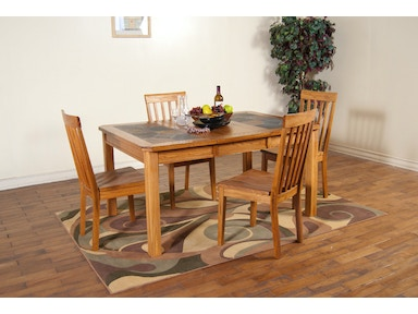 Sunny Designs Sedona Extension Table With Slate Top 1273RO